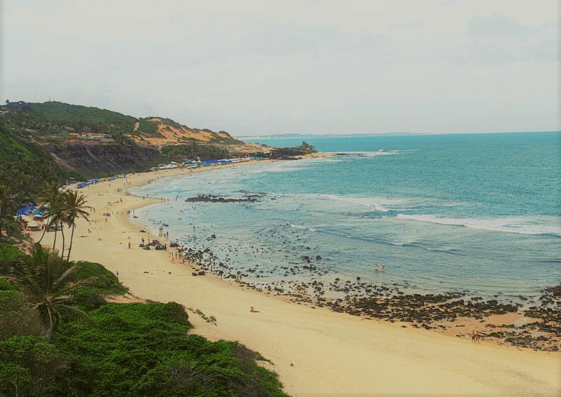 Praia do Amor vista de cima do chapadão