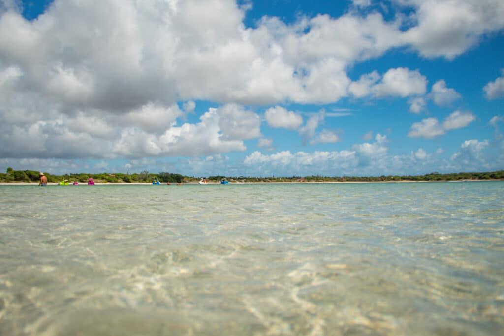 Lagoa do Carcará - Águas cristalinas