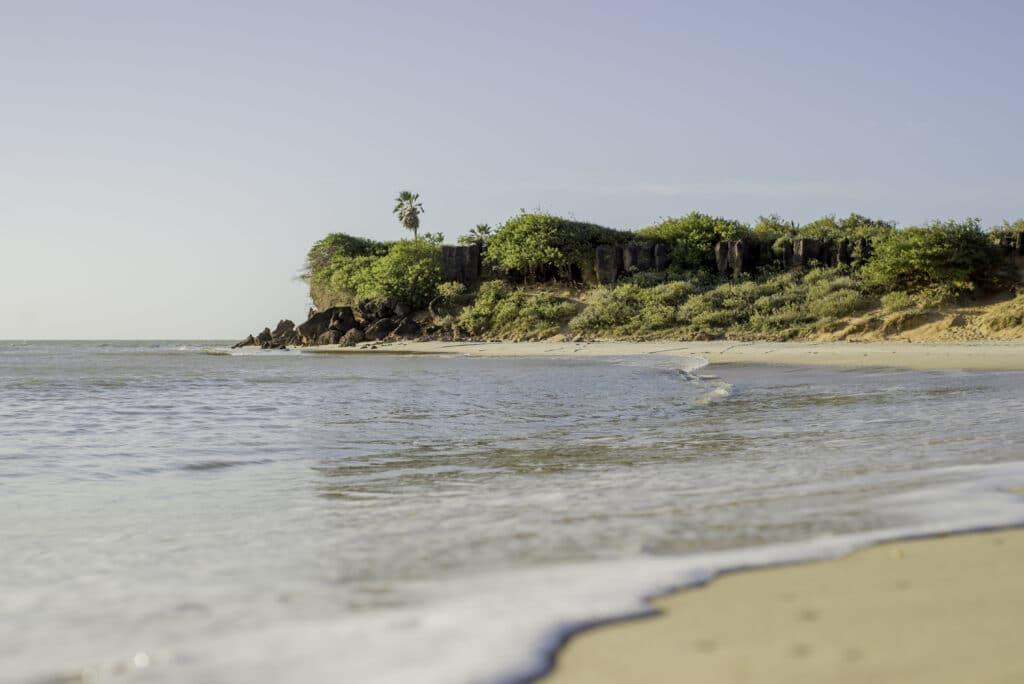 Praia de Tourinhos pertencente ao passeio de São Miguel do Gostoso
