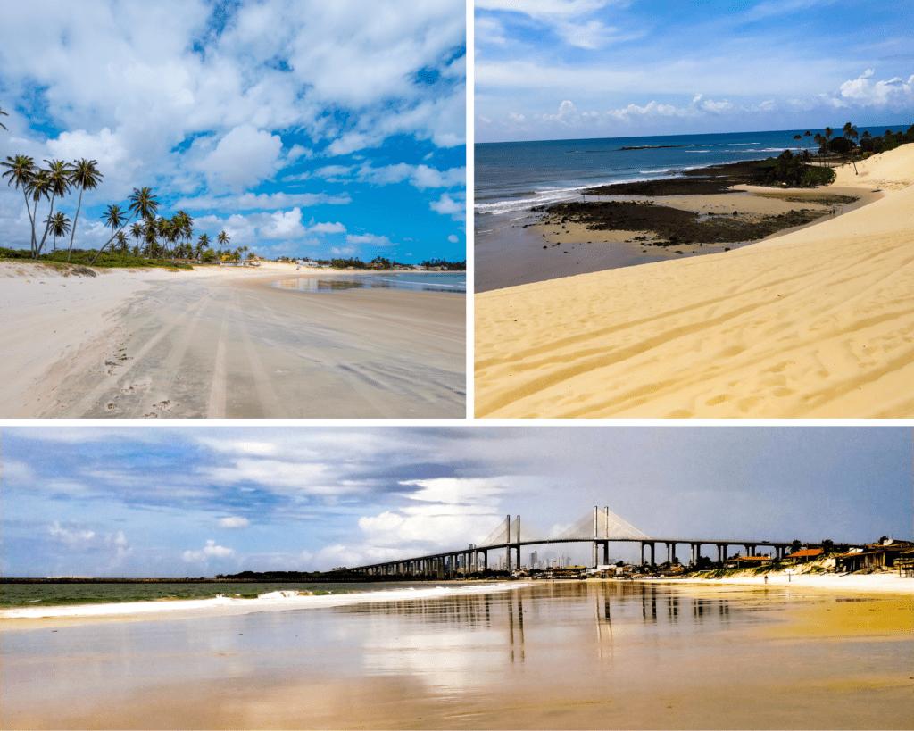 Praia de pitangui genipabu e redinha